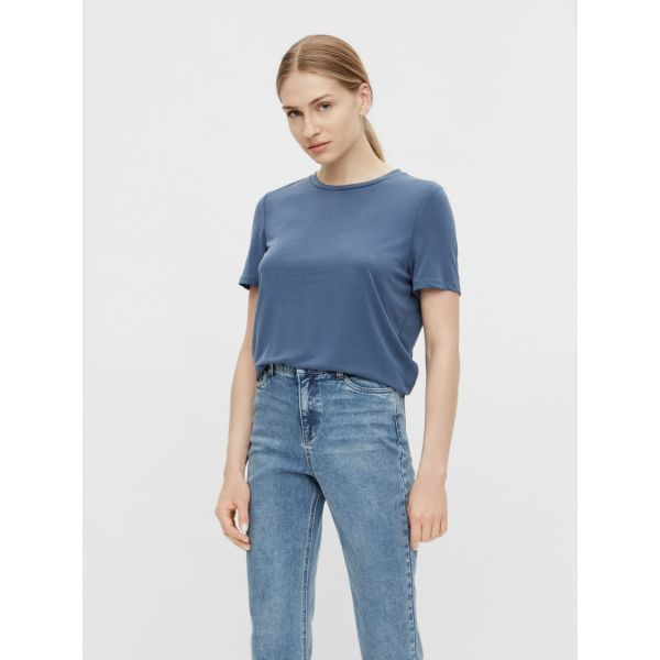 OBJANNIE blue T-SHIRT