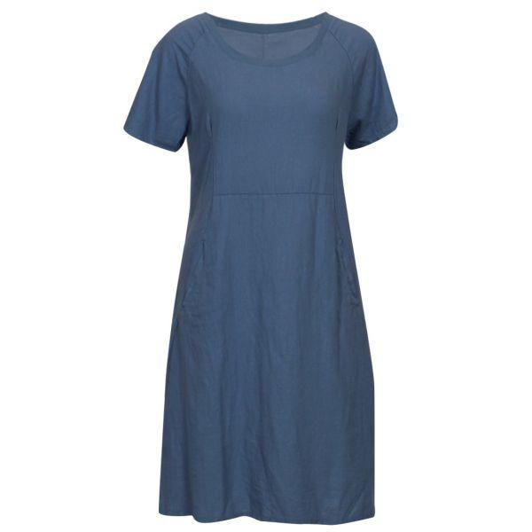 ML Mille navy rib dress ML1060