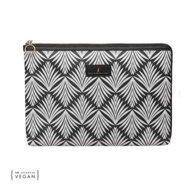Laptop Sleeve Black/Cream Phoenix