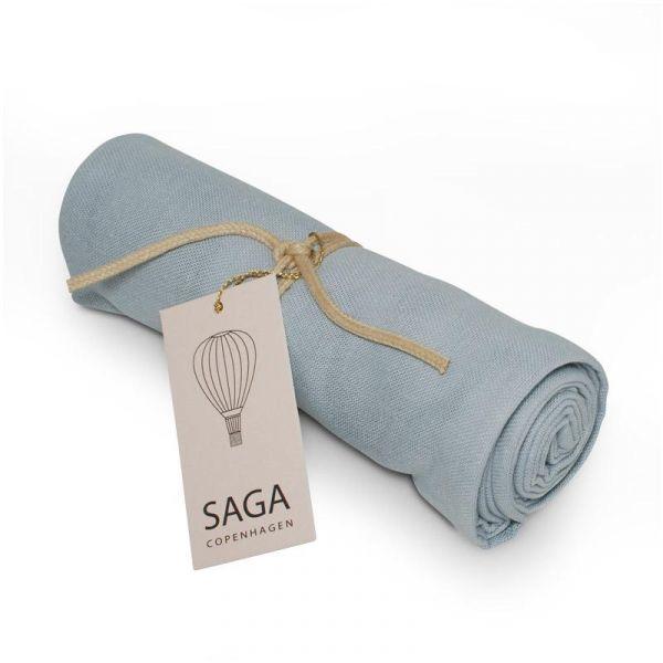 SAGA COPENHAGEN - MUSLIN KLUT DREAM BLUE