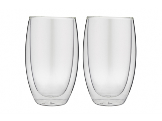 Doublewalled glasses latte&tea (set with 2 glasses)