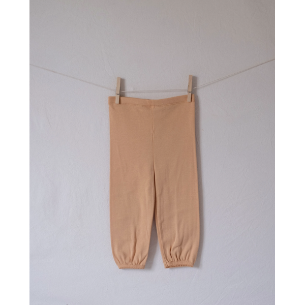 Wide tights - Ocher