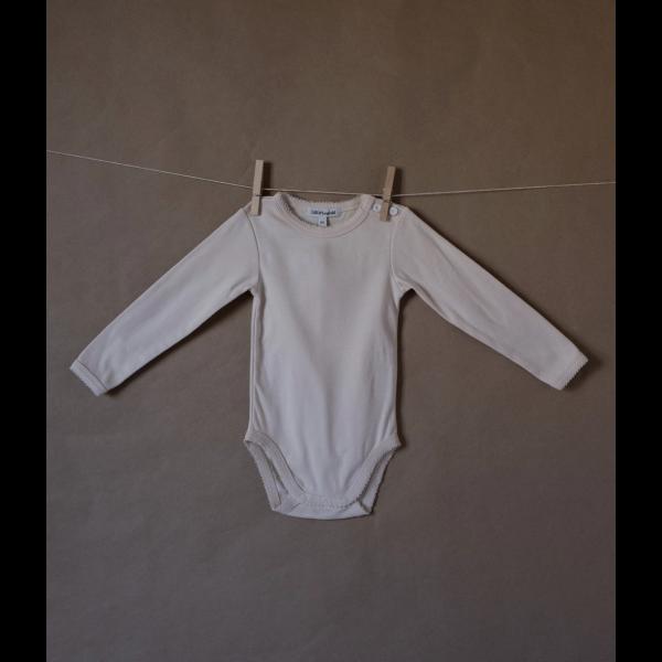 Body, Organic cotton - Sand