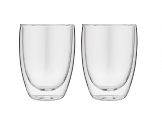 Doublewalled glasses cappuccino (set with 2 glasses)
