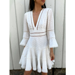 Millie Dress - White