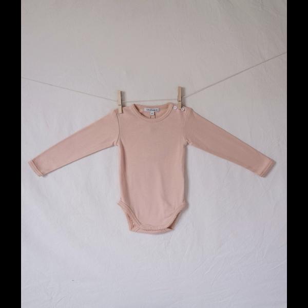 Body, Organic cotton - Rose