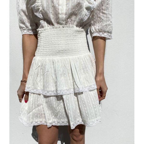 Vera Skirt Cream