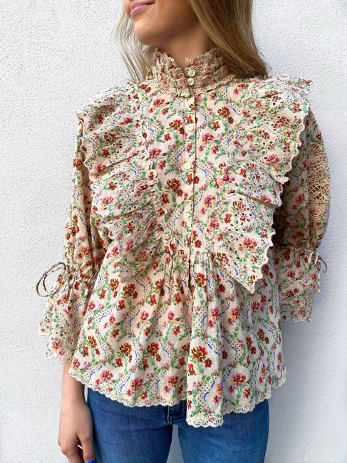 Cotton Slub Shirt - Light Wallpaper