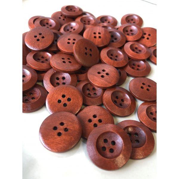 Tre rødbrun - 23mm