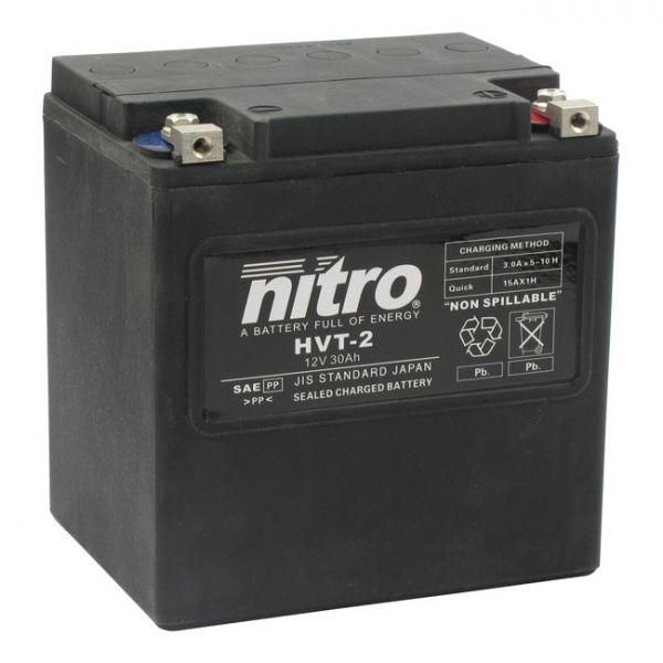 NITRO AGM HVT 2. BATTERY, 12 VOLT