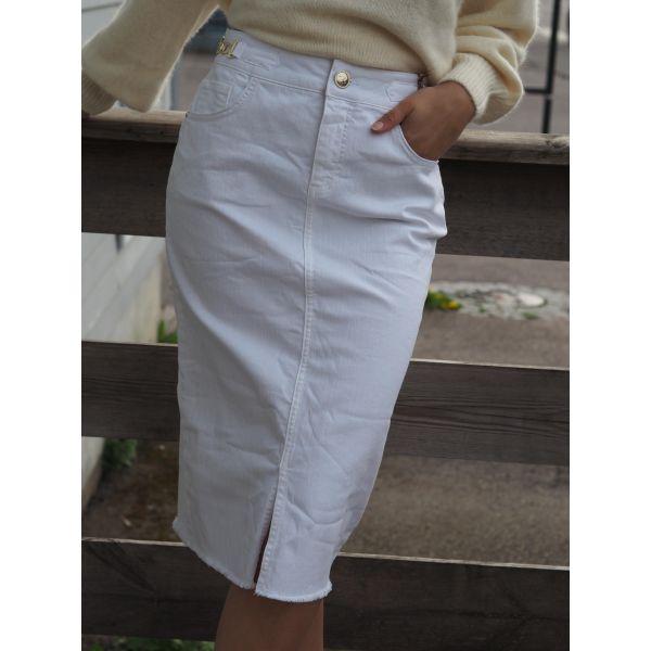 Selma  White Skirt