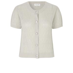 Laica Wool&cashmere cardigan Cream