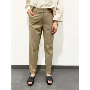 Fria Cropped Pant - Camel