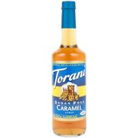 TORANI CARAMEL SUKKERFRI 750ML
