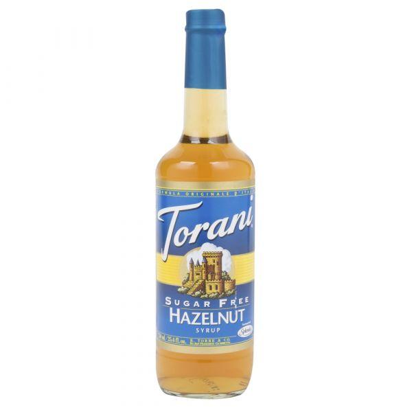 TORANI HAZELNUT SUKKERFRI 750ML