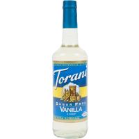 TORANI VANILLA SUKKERFRI 750ML