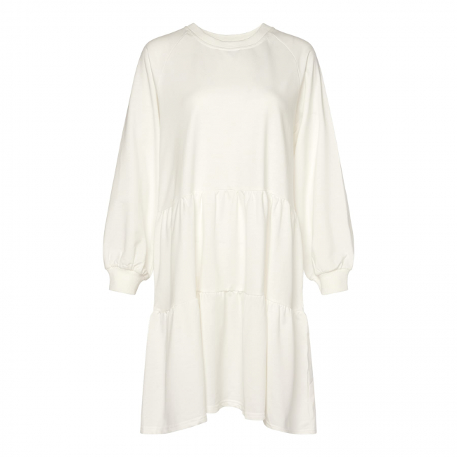 Holly Sweat Dress White