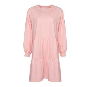 Holly Sweat Dress Pink