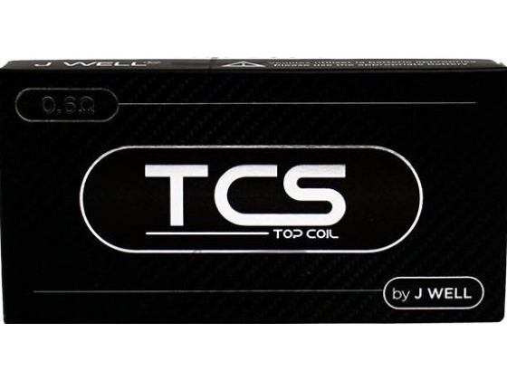 JWELL TCS+ 0.6 ohm Coil for Gecko (5STK)