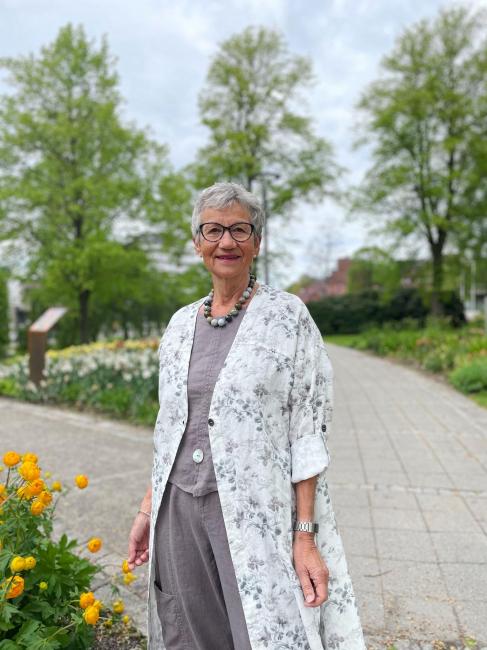 Olars Ulla Jakke - Rammel Flower
