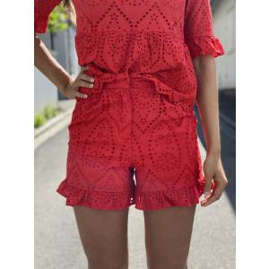 Josefine Shorts - High Risk Red