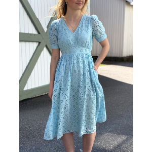Cory Midi Dress - Corydalis Blue