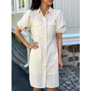 Bilbao Mini Dress - Parchment