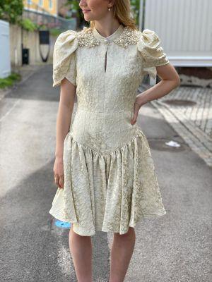 Jodie Dress BY NBS - Seed Pearl
