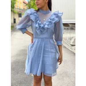 Luisa Dress - Dusty Blue