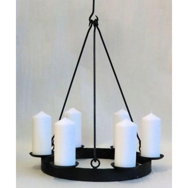 Lysekrone 40cm til kubbelys