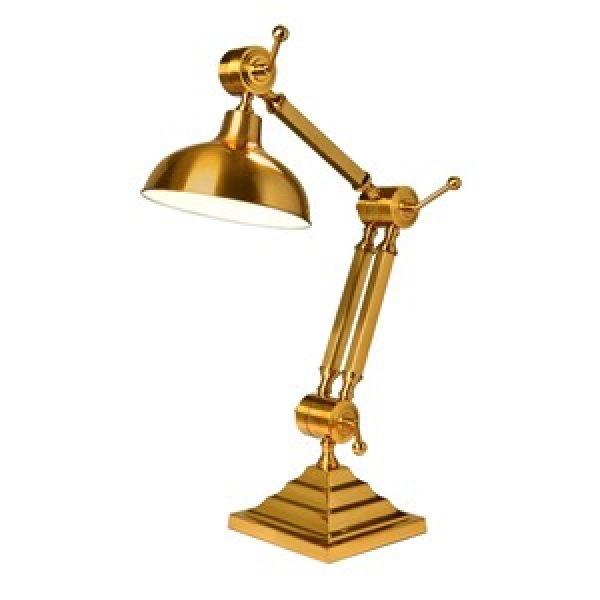 Bordlampe Memphis Gold D28 x H120cm