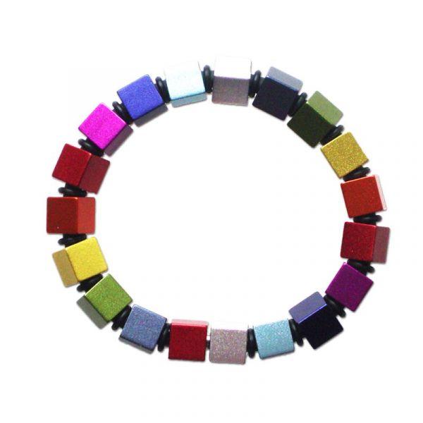Apero Würfel - Fargerikt armbånd