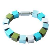Apero Würfel - Stort blå og grønn armbånd