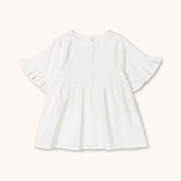 LALABY - FLORA TOP WHITE DOT
