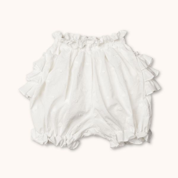 LALABY - IGGY BLOOMERS WHITE DOT