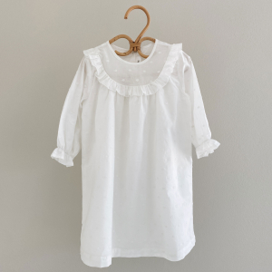 LALABY - NOEY DRESS WHITE DOT