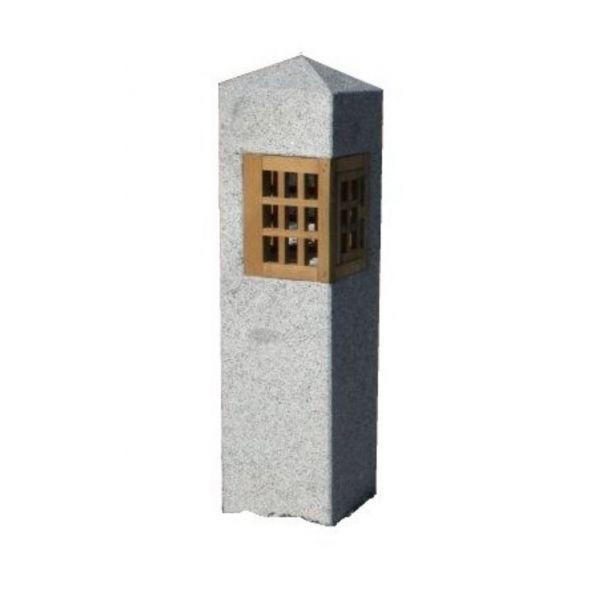 Japansk lanterne i granitt - 90cm