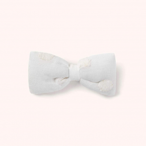 LALABY - HAIR BOW WHITE DOT