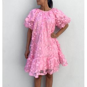 Alberta 2/4 Dress - Prism Pink