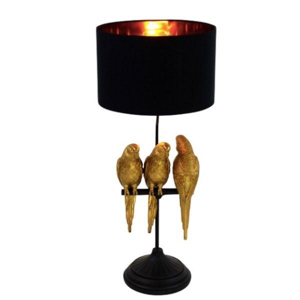 """Lampe """"Timmy, Tommy & Tammy"""" gull/svart"""