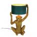 """Lampe """"Chimpy"""" gull/petrol"""