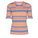 NUcarmen peach pullover 700530