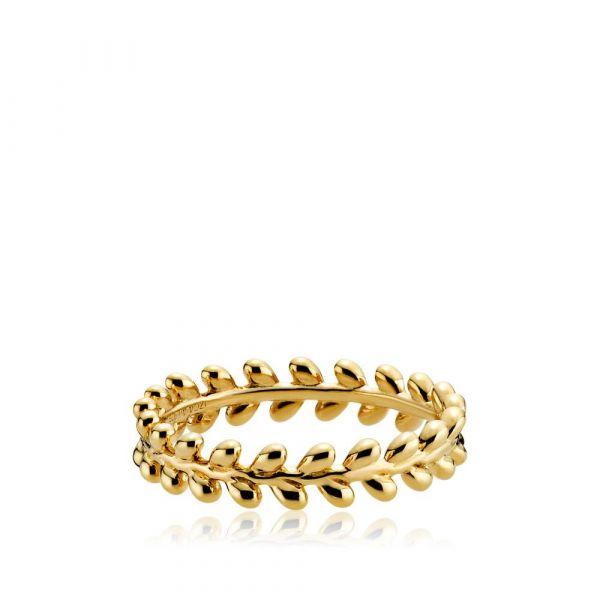 Oliva - Ring forgylt