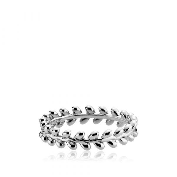 Oliva - Ring sølv