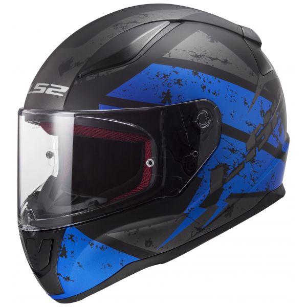 LS2 FF353 Rapid Deadbolt Black/Blue