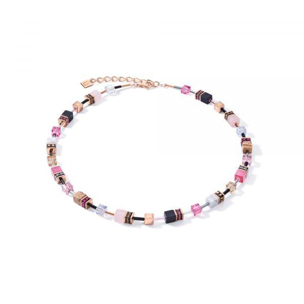GEOCUBE Pastel Pink Necklace
