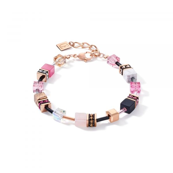 GEOCUBE Pastel Pink Bracelet