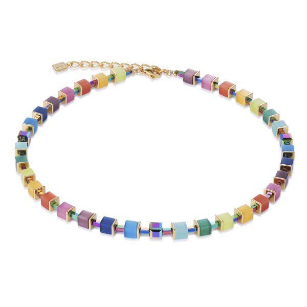 GEOCUBE Multicolour Hematite Necklace