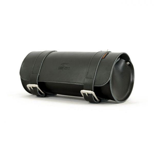 LONGRIDE, GENUINE LEATHER TOOL ROLL 6.5L. SMOOTH BLACK
