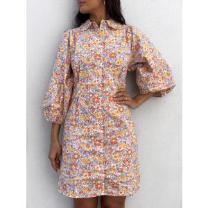 Mani 3/4 Shirt Dress